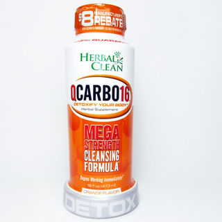 Detox Drink Herbal Clean QCarbo16 Orange