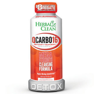 Detox Drink Herbal Clean QCarbo16 Strawberry-Mango