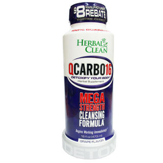 Detox Drink Herbal Clean QCarbo16 Grape DE105