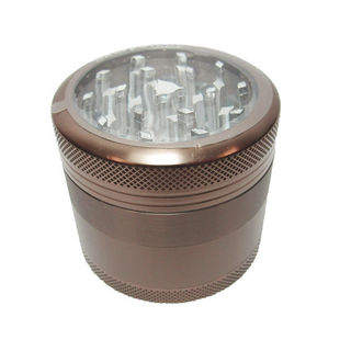 Grinder Sharpstone 4pce Clear Top Bronze MO187C