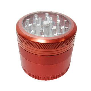 Grinder Sharpstone 4pce Clear Top Red MO187E
