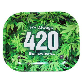 Rolling Tray Metal 180x140mm 420 Green MH500