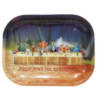 Rolling Tray Metal 180x140mm Alice Dinner MH502