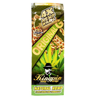Wrap Kingpin Hemp Original G 4pk SW031