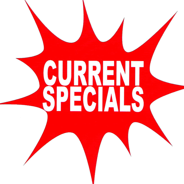 Specials on smokeware and vaping products