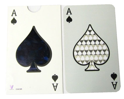 Grinder Card Ace of Spades