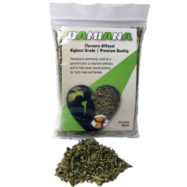 Herb Damiana Wildcrafted 25g HH142