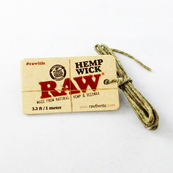 Hemp Wick Raw 1mtr SA015