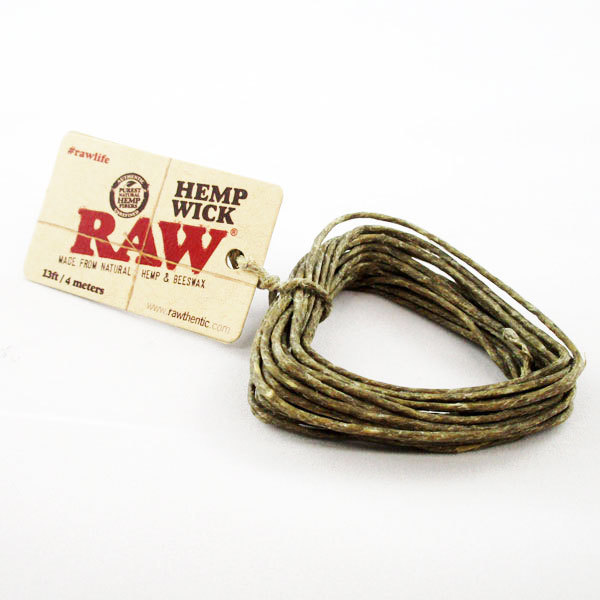Hemp Wick Raw 4mtr SA017 EOL