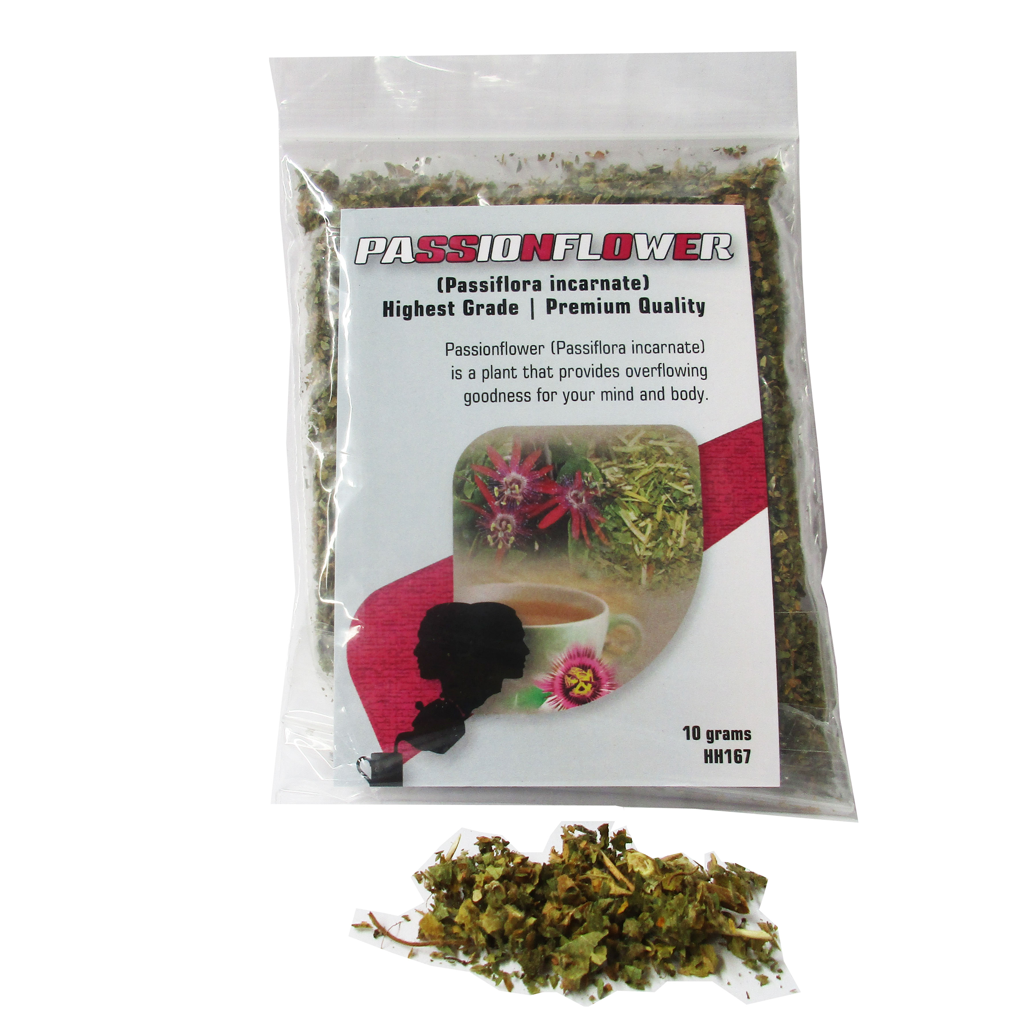 Herb Passionflower Organic 10g HH167