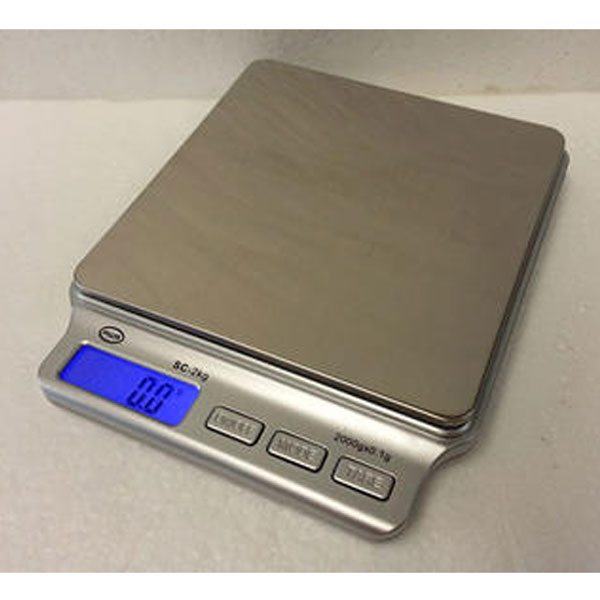 Scales Digital 2000g x 0.1g SC-2KG