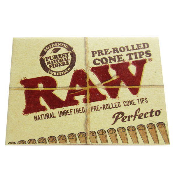 Tips Raw Pre-rolled Perfecto 21pk SP908