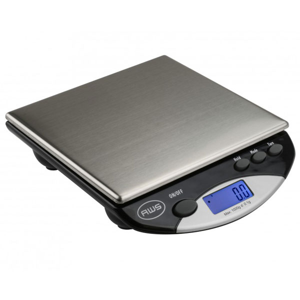 Scales AWS AMW-1000 1000g x 0.1g Bench Scale