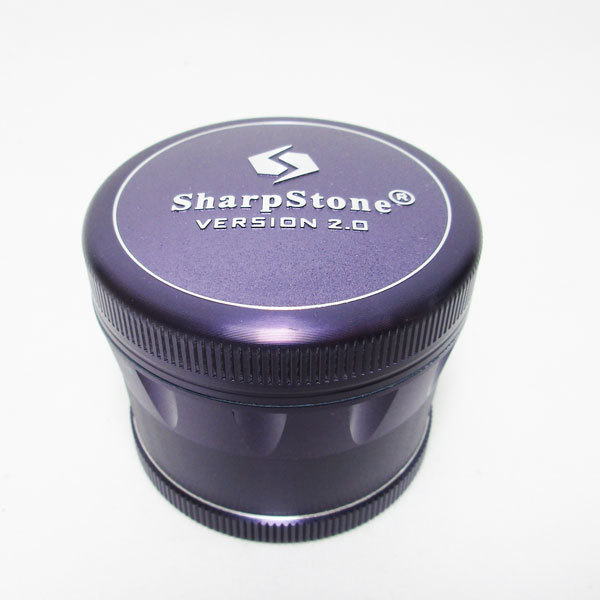Grinder Sharpstone 4pce v2.0 60mm Purple MO332 EOL