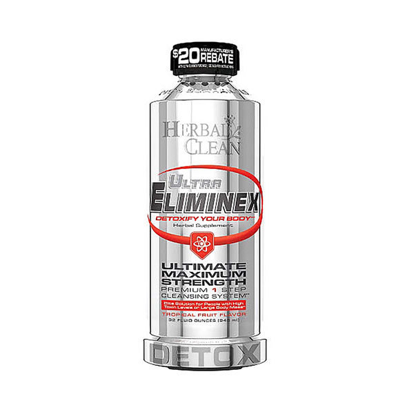 Detox Drink Herbal Clean Ultra Eliminex 32oz DE130 EOL