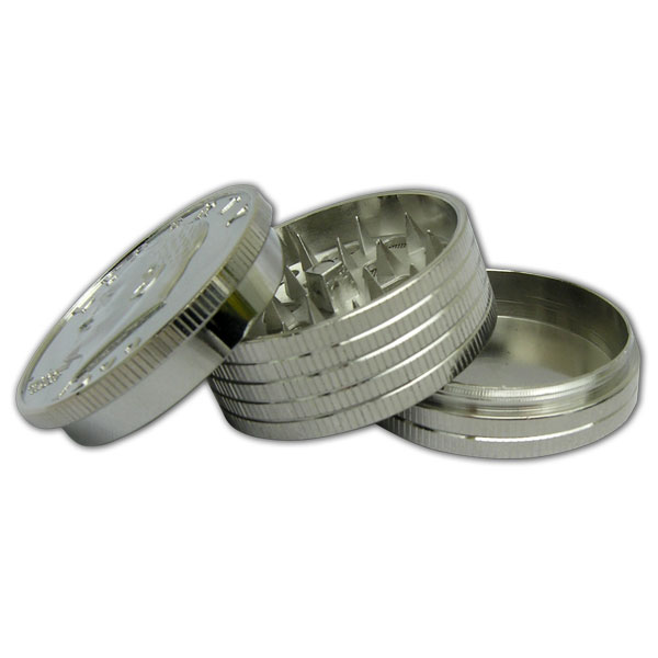 Grinder Metal Coins 3pce Lge MO155