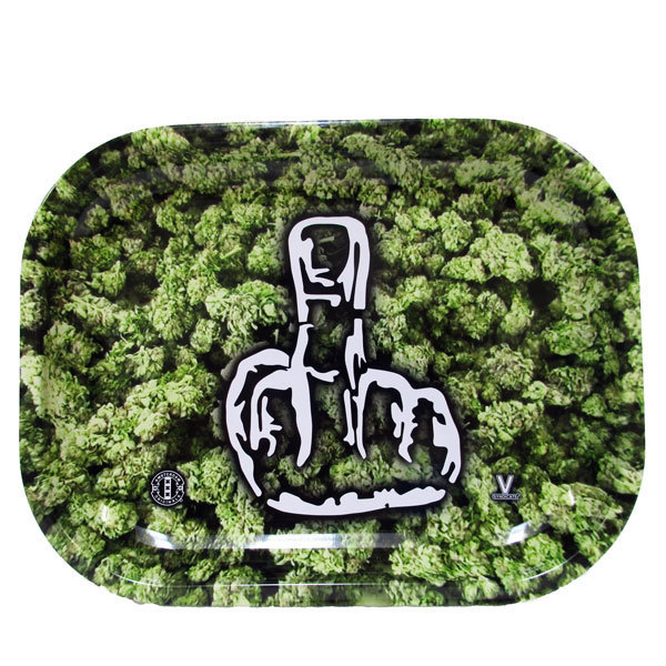 Rolling Tray Metal 180x140mm Middle Finger MH503