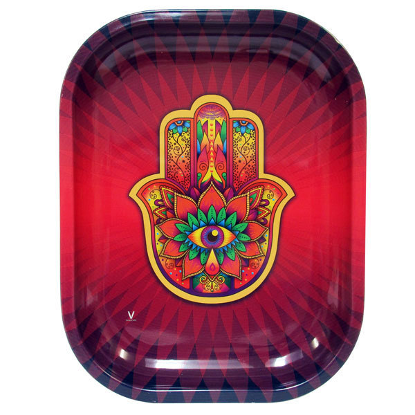 Rolling Tray Metal 180x140mm The Hamsa MH504