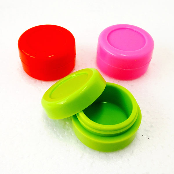 Container Silicone Round 7ml SI012