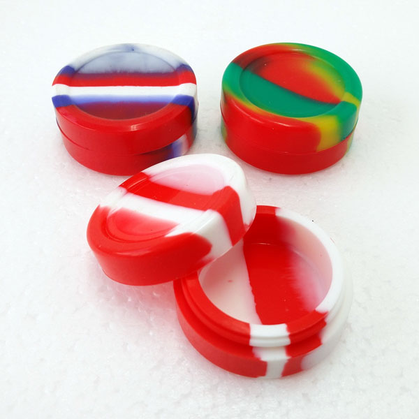 Container Silicone Round 11ml SI014
