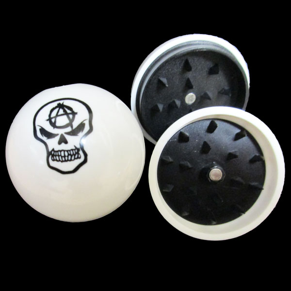Grinder Acrylic Ball Asst Designs 43mm MO163