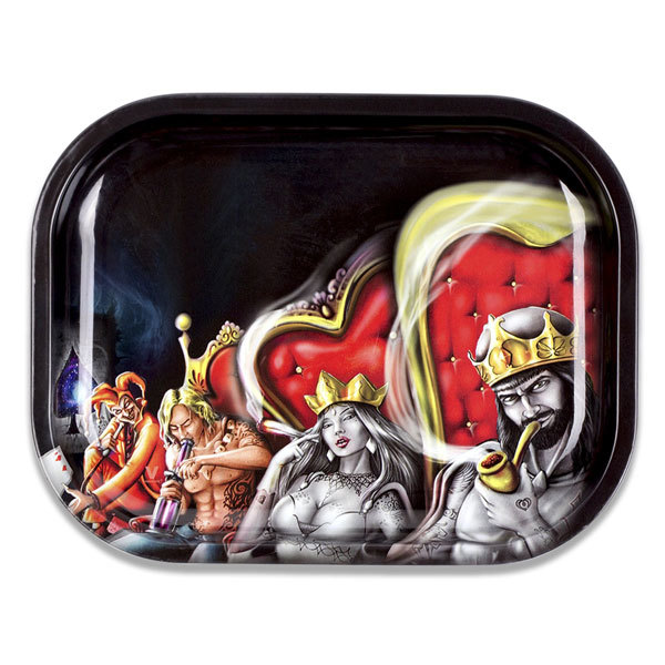 Rolling Tray Metal 180x140mm Royal Highness MH508