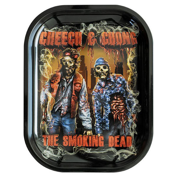 Rolling Tray Metal 180x140mm Cheech and Chong MH509