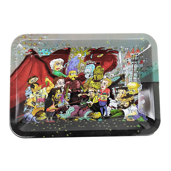 Rolling Tray Metal 180x120mm Simpsons Mash MH532