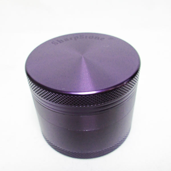 Grinder Sharpstone 4pce Purple MO307