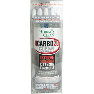 Detox Drink Herbal Clean QCarbo20 Strawberry-Mango